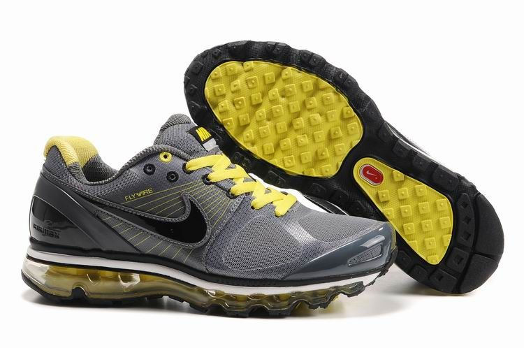 release date: 128e0 f5b5d Chaussures 2013 Gris noir jaune Hommes,basket nike,grande popularité,Pas