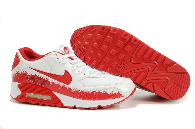 nike chaussure femme rouge